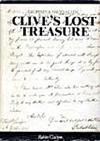 Clive's Lost Treasure by Geoffrey Allen