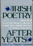 Irish Poetry After Yeats: 7 Poets by Maurice…