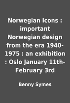 Norwegian Icons : important Norwegian design…