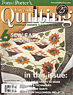 Love of Quilting Volume 11 Number 4 Issue 65…