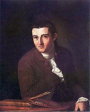 Author photo. Self Portrait John Trumbull 1777