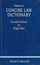 Osborn's Concise Law Dictionary by P.G.…