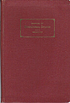 Manual of Structural Design by Jack…