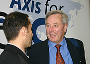 Author photo. Andreas Von Bülow (right) with Thierry Meyssan
