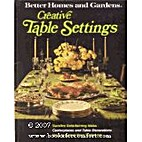 Better Homes and Gardens Creative Table…