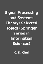 Signal Processing and Systems Theory:…