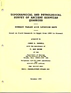 Topographical and Petrological Survey of…