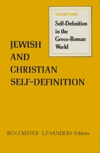 Jewish and Christian Self-Definition:…