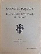 Cabinet des poinçons de l'Imprimerie…