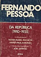 Da República (1910-1935) by Fernando Pessoa