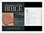Almanac of the Bible by Geoffrey Wigoder