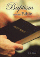 Baptism and the Bible by Cornelius R. Stam