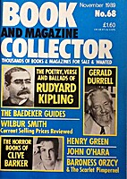 Book and Magazine Collector November 1989 -…