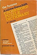 The Famous Andrew Swanfeldt Crossword Puzzle…