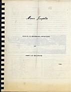 Marie Josephte. Dossier de recherche…