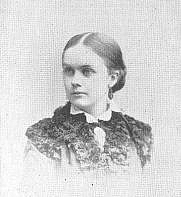 Author photo. Flora Haines Loughead (b.1855), Buffalo Electrotype and Engraving Co., Buffalo, N.Y.