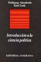 Introducción a la ciencia política by…