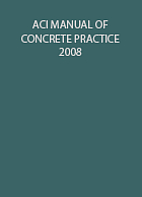 ACI Manual of Concrete Practice 2008 by…