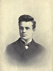 Author photo. Image from <b><i>Ten months a captive among Filipinos</i></b> (1901) by Albert Sonnichsen