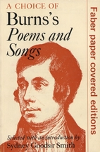 Choice of Burns' Poems and Songs by Robert…