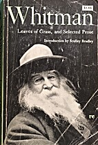 WALT WHITMAN LEAVES OF GRASS, & SELECTED…