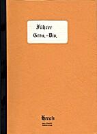 Fuhrer Grenadier Division by R. M.…