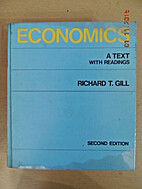 Economics;: A text with readings by Richard…