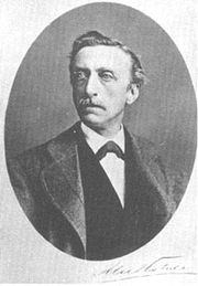 Author photo. Eduard Douwes Dekker, aka Mutatuli