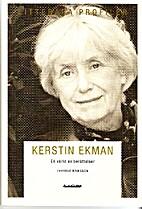 Kerstin Ekman : en värld av…