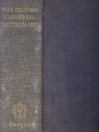 The Oxford Universal Dictionary On…