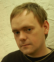 """Author photo. Michael Gardiner, author of """"Escalator"""" and """"At the Edge of Empire"""""""
