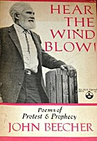 Hear the wind blow! Poems of protest &…