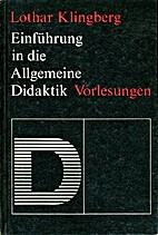 Einführung in die allgemeine Didaktik :…