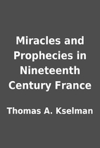 Miracles and Prophecies in Nineteenth…