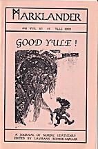 Marklander 41 Vol VI 1 Yule 1999 A Journal…