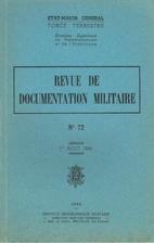 Revue de documentation militaire -…