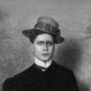 Author photo. Paul Leppin ca. 1905