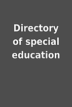 Directory of special education