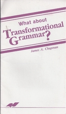 What about Transformational Grammar? by…