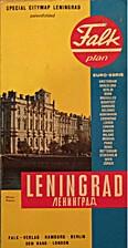 Special Citymap Leningrad by Falk-Verlag