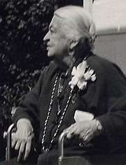 Author photo. Isobel Field at age 86, Oct. 1944<br>Courtesy of the <a href=&quot;http://digitalgallery.nypl.org/nypldigital/id?484063&quot;>NYPL Digital Gallery</a><br>(image use requires permission from the New York Public Library)