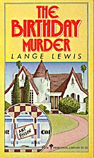 The Birthday Murder by Lange Lewis