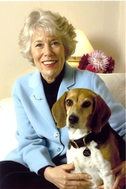 Author photo. Kristin von Kreisler with Phoebe Miracle