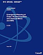 Regulatory Guide G-225: Emergency Planning…