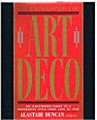 Encyclopedia of Art Deco by Alastair Duncan