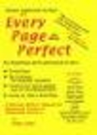 Every Page Perfect: A Full-Size Writer's…
