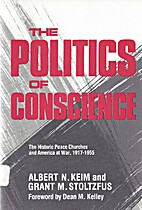 The Politics of Conscience : The historic…