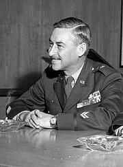 Author photo. U.S. Army Major Genaral John B. Medaris