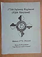 175th Infantry Regiment (Fifth Maryland),…