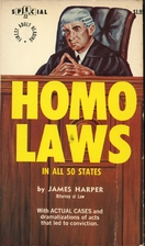 Homo laws in fifty states by James Harper